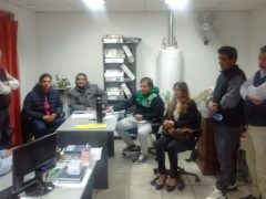 Reunión con Clubes de Barrio de C. del Uruguay