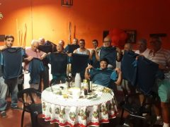 Bocho filos del Club Ciclón de Ayachuco