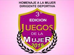 JUEGOS DE LA MUJER - HOMENAJE MUJER DIRIGENTE