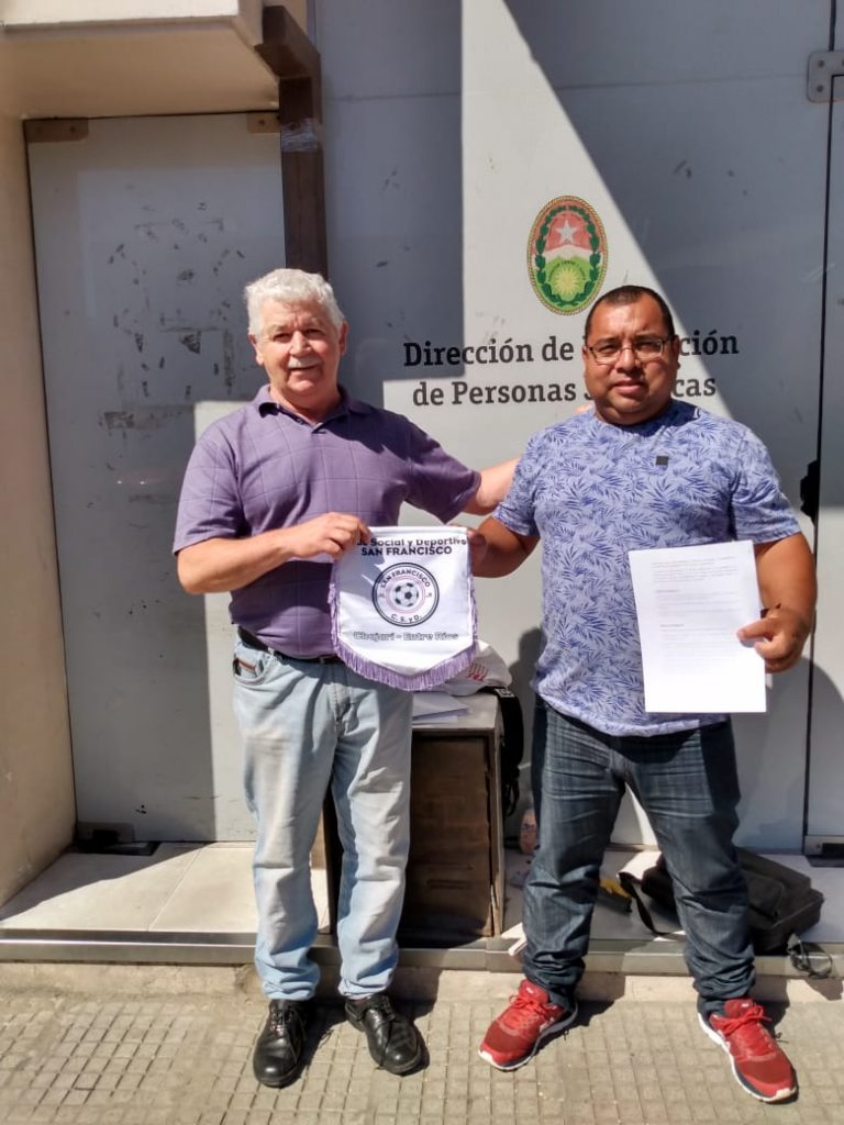 Hugo Grassi Federación Entrerriana de Clubes