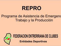 Repro Hugo Grassi Federacion de Clubes