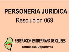 Resolución 069